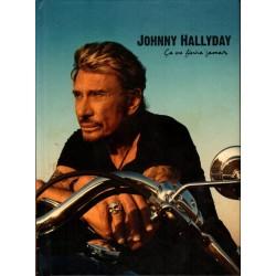 2 DVD JOHNNY HALLYDAY - CA NE FINIRA JAMAIS WARNER 2008 13 TITRES + LIVRET