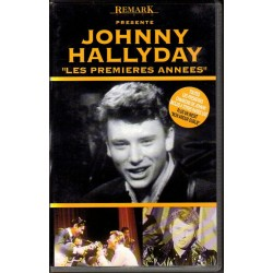VHS  JOHNNY HALLYDAY  LES PREMIERES ANNEES   REMARK 1992   18 TITRES