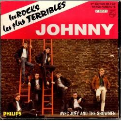 COFFRET 3 45T LES ROCKS LES PLUS TERRIBLES - UNIVERSAL 1999 - JOHNNY HALLYDAY
