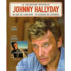 LA COLLECTION OFFICIELLE  JOHNNY HALLYDAY VOL. 6   GANG  1986