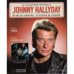 LA COLLECTION OFFICIELLE  JOHNNY HALLYDAY VOL. 13   CADILLAC  1989