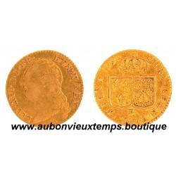 LOUIS OR  - LOUIS XVI 1790 R    RARE