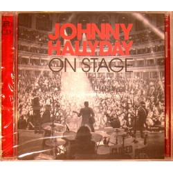 CD JOHNNY HALLYDAY - ON STAGE 2013 2 CD 30 TITRES