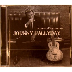 CD  JOHNNY HALLYDAY  - LE COEUR D'UN HOMME   2007    13 TITRES