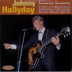 CD  JOHNNY HALLYDAY  - SOUVENIRS SOUVENIRS    12 TITRES