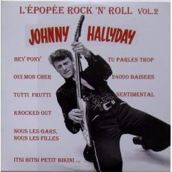 CD  JOHNNY HALLYDAY  - L'EPOPEE DU ROCK'N ROLL  VOL. 2   1960 1961    25 TITRES