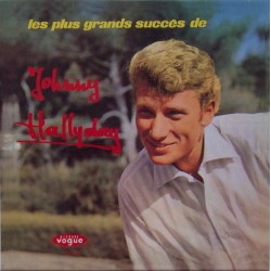 CD  JOHNNY HALLYDAY  - LES PLUS GRANDS SUCCES DE     12 TITRES