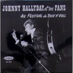 CD  JOHNNY HALLYDAY  - ET SES FANS    8 TITRES
