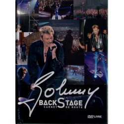 DVD  JOHNNY HALLYDAY  - BACK STAGE - CARNET de ROUTE  2005