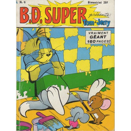 Livre B D Super Tom Et Jerry N 6 1987