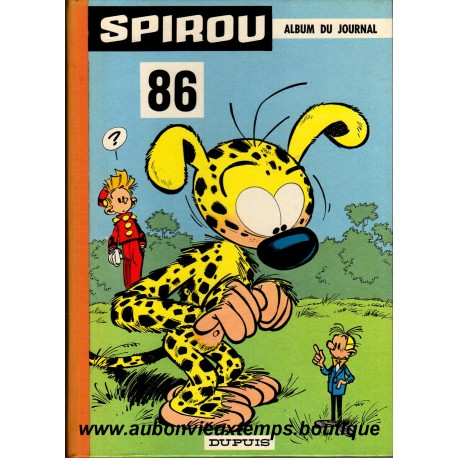 Livre Bd Album Du Journal Spirou N 86 1264 Au 1276