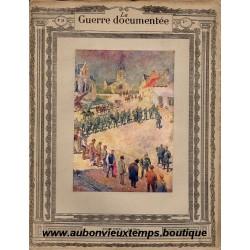 LA GUERRE DOCUMENTEE  - FASCICULE N° 38 - 1914  1915