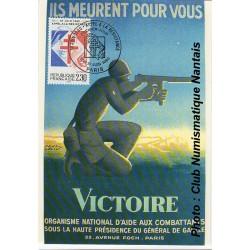 VICTOIRE - GENERAL DE GAULLE