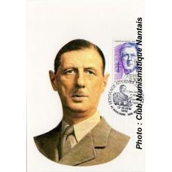 HOMMAGE AU GENERAL DE GAULLE