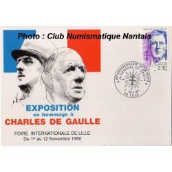EXPOSITION EN HOMMAGE AU GENERAL DE GAULLE