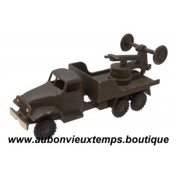 FRANCE JOUET  1/60  CAMION GMC LANCE FUSEE
