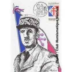 1er RESISTANT DE FRANCE - CHARLES DE GAULLE