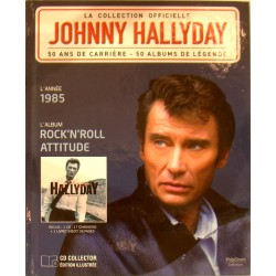 LA COLLECTION OFFICIELLE JOHNNY HALLYDAY VOL. 1 ROCK'N'ROLL ATTITUDE 1985