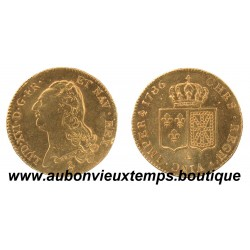 DOUBLE LOUIS OR LOUIS XVI  1786 A