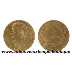 40 FRANCS OR NAPOLEON 1er  AN 12 A  PREMIER CONSUL