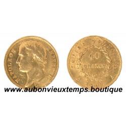 40 FRANCS OR NAPOLEON 1er  1811 A  EMPEREUR