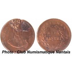 CENT 1847 - KAMEHAMEHA III - ROYAUME D'HAWAII - RARE