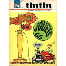 LE JOURNAL DE TINTIN N° 891 du  18.11.1965