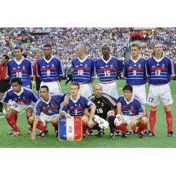 SET de TABLE  N°1 EQUIPE DE FRANCE FOOTBALL 1998
