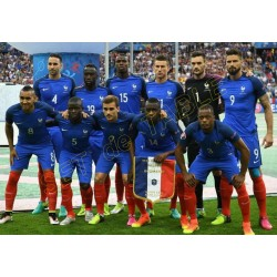 SET de TABLE  N°2 EQUIPE DE FRANCE FOOTBALL 2018
