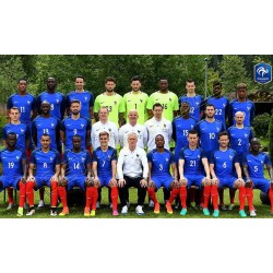 SET de TABLE  N°3 EQUIPE DE FRANCE FOOTBALL 2018