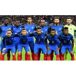 SET de TABLE  N°5 EQUIPE DE FRANCE FOOTBALL 2018