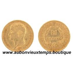 20 FRANCS OR NAPOLEON 1er  1807 A  EMPEREUR