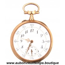 MONTRE CHRONOMETRE DE GOUSSET EN OR JAUNE LE COULTRE 1900