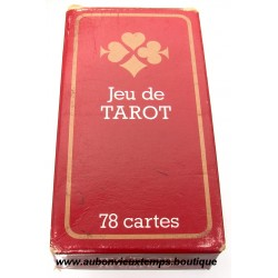 JEU DE TAROT  avec REGLE DU JEU FRANCAIS
