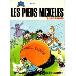 LES PIEDS NICKELES EUROPEENS  N° 110