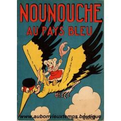 NOUNOUCHE AU PAYS BLEU  N°3  1943