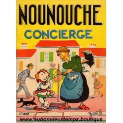 NOUNOUCHE CONCIERGE N°22 1954