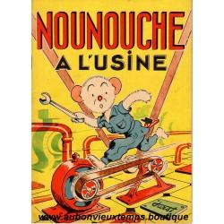 NOUNOUCHE A L'USINE  N°23   1954