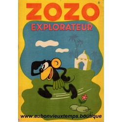 ZOZO EXPLORATEUR   N°1  1936
