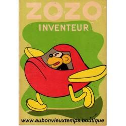 ZOZO INVENTEUR   N°4  1937