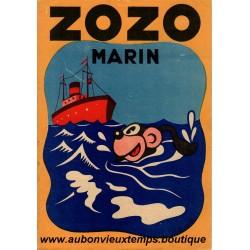 ZOZO MARIN   N°6  1938