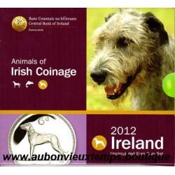 COFFRET EUROS BU IRLANDE 2012