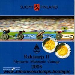 COFFRET EUROS BU FINLANDE 2005