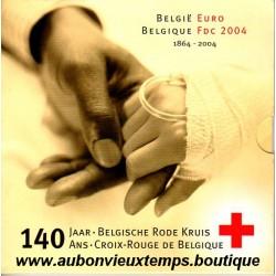 COFFRET EUROS BU BELGIQUE 2004