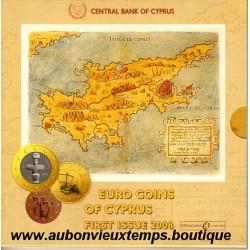 COFFRET EUROS BU CHYPRE 2008