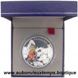COFFRET 1€1/2  EURO ARGENT  BE 2002  PINOCCHIO