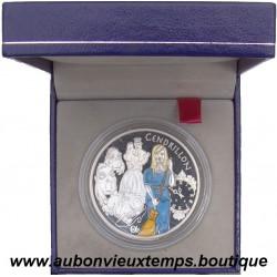 COFFRET 1€1/2  EURO ARGENT  BE 2002  CENDRILLON