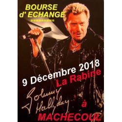 BOURSE JOHNNY HALLYDAY DU 9 DECEMBRE 2018 A MACHECOUL