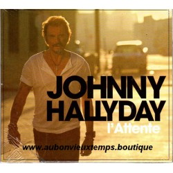 CD  JOHNNY HALLYDAY  - L'ATTENTE   2012    11 TITRES