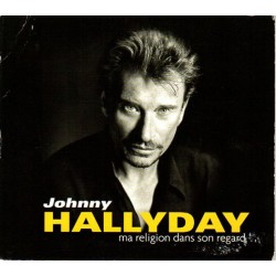 CD JOHNNY HALLYDAY MA RELIGION DANS SON REGARD  2005  2 TITRES  MERCURY